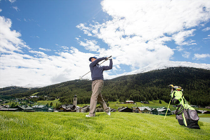 Golf a Livigno d'estate